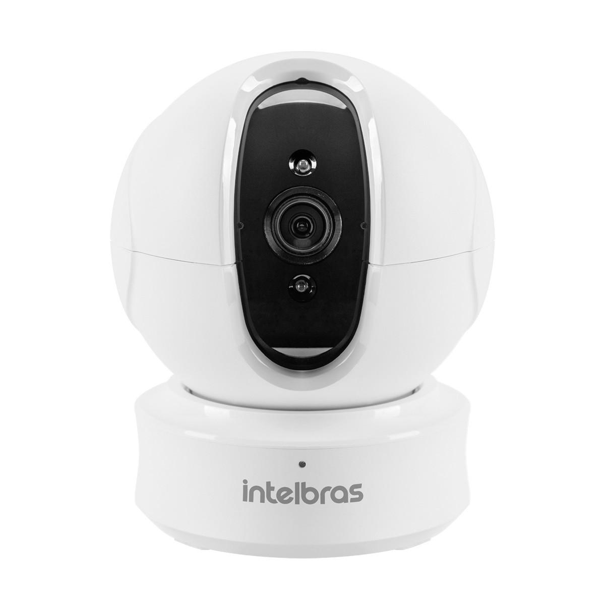 Camera Seguranca sem Fio WI-FI HD Branco - Ic4 - Intelbras