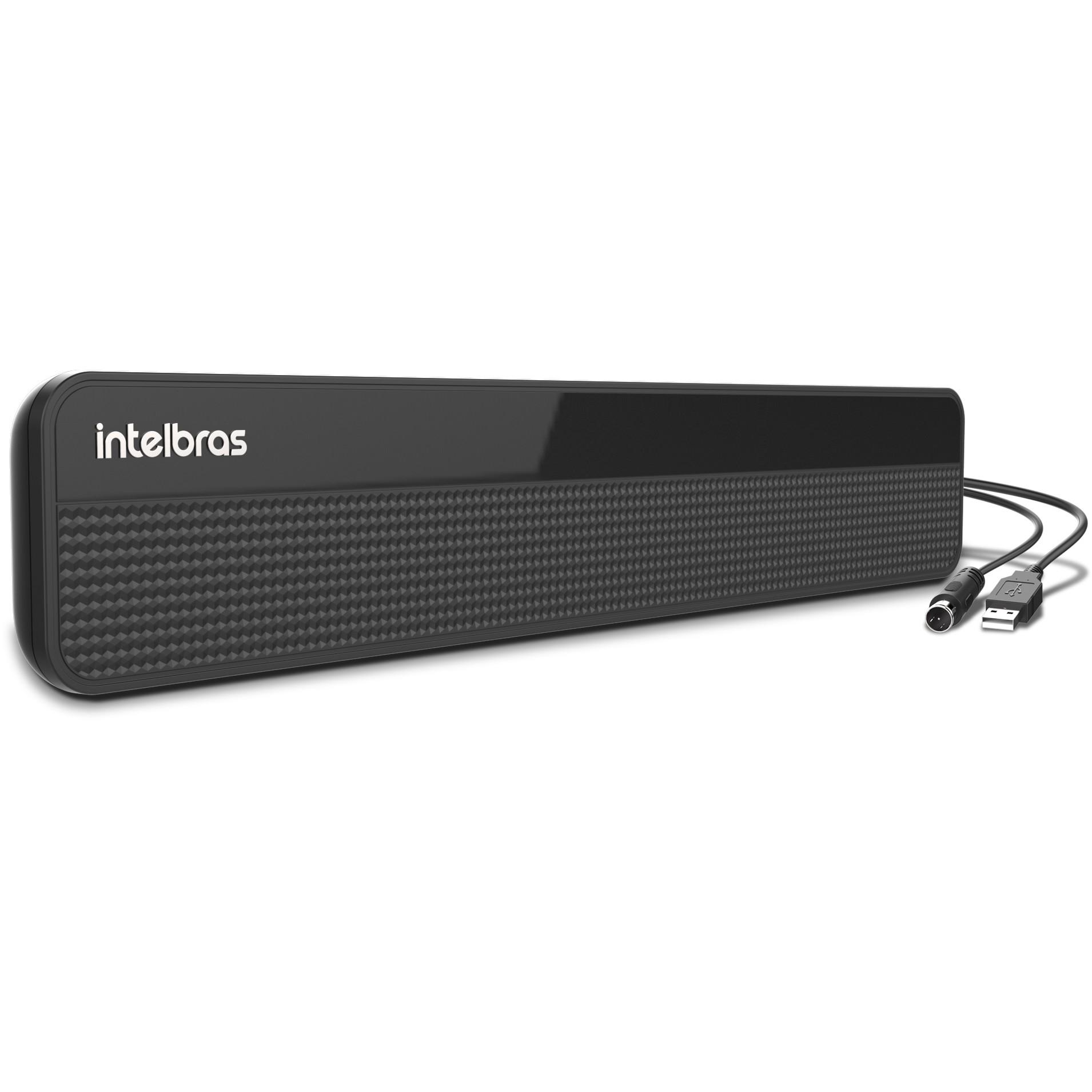 Antena Interna UHFHDTV com Amplificada - Ai3101 - Intelbras