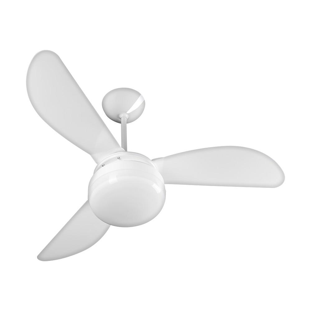 Ventilador de Teto Ventisol 3 Pas Fenix 233 Branco 127V - 2 Lampadas 3 Velocidades