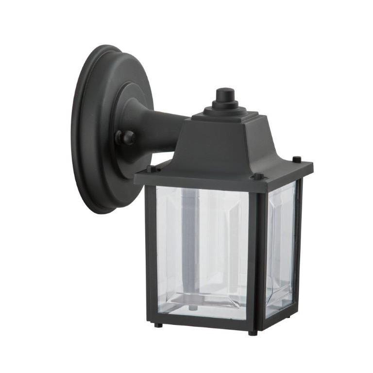 Arandela Vintage Polipropileno 1 Lampada Preta - Dital
