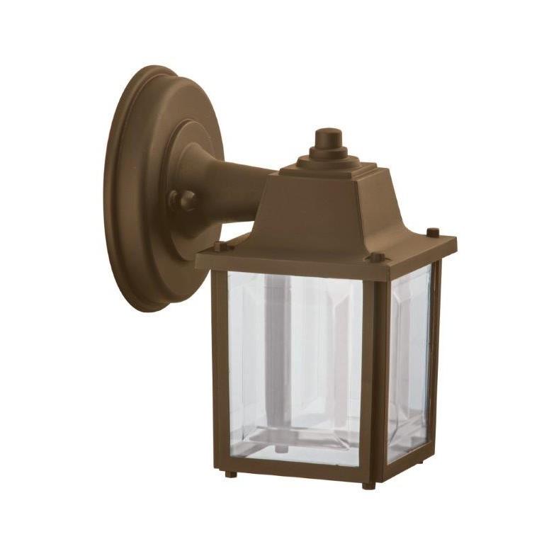 Arandela Vintage Polipropileno 1 Lampada Marrom - Dital