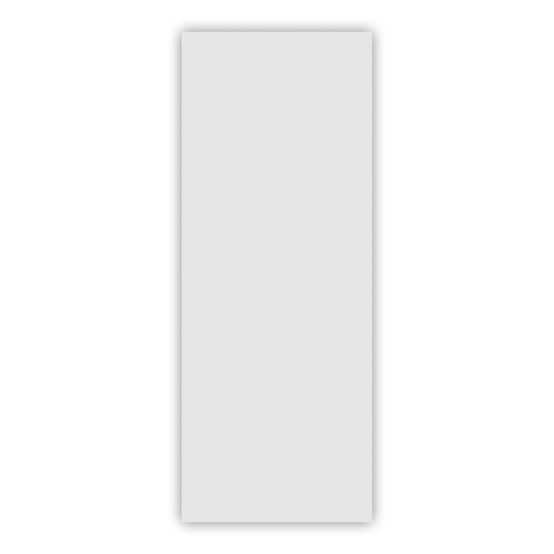 Porta de Madeira Lisa 210 x 90 cm Branca - RQ35 - MGM