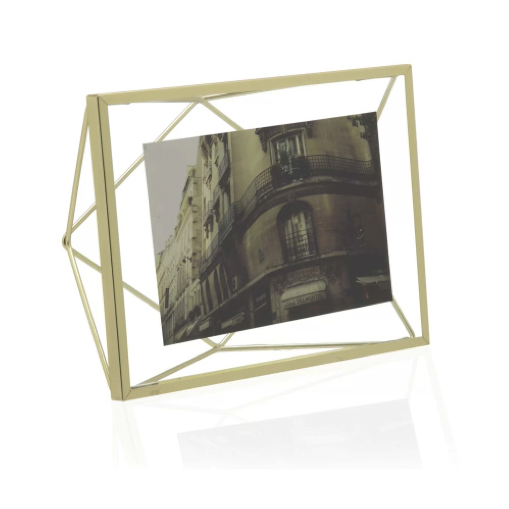 Porta Retrato 18x23cm Dourado - Casa Ambiente