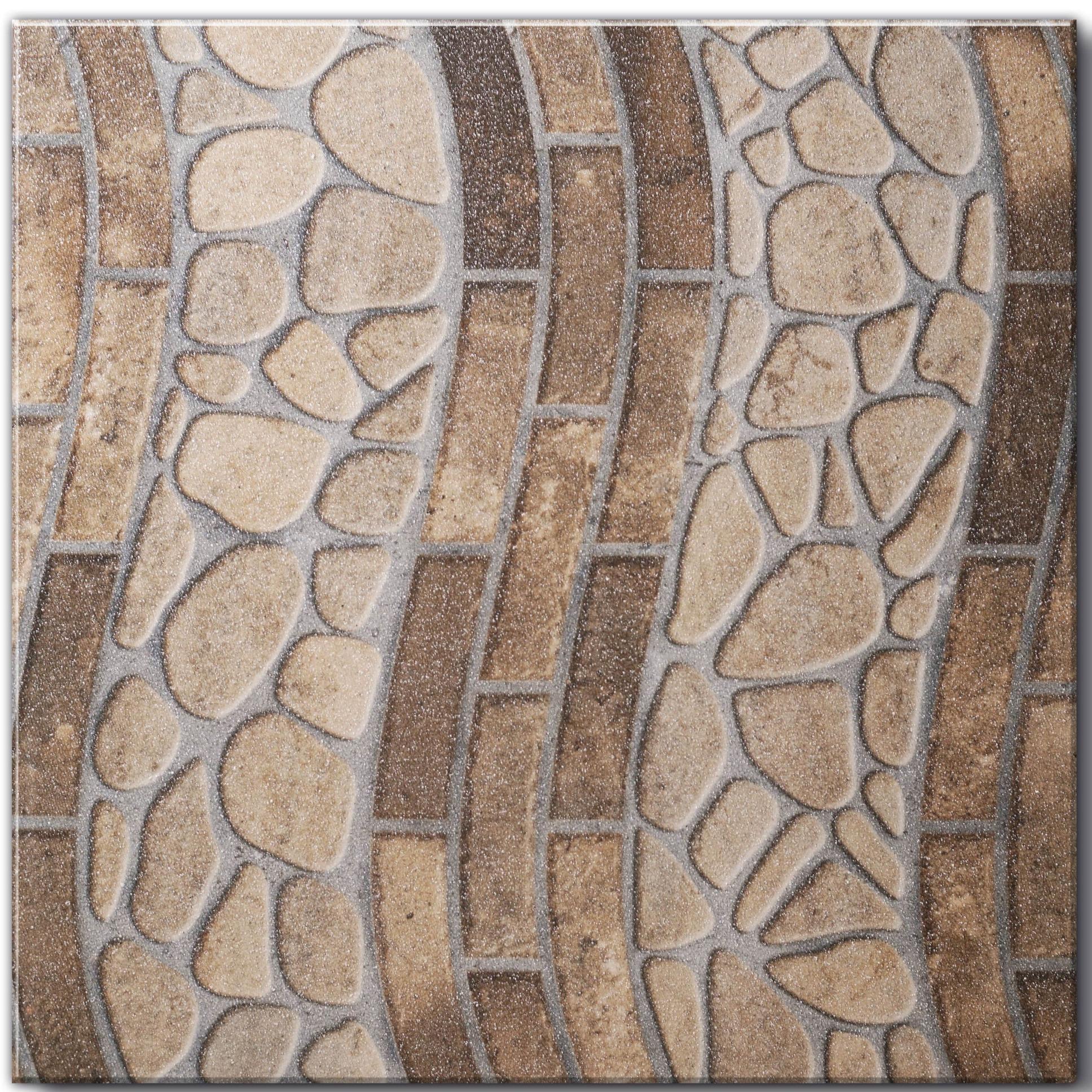 Ceramica Limoeiro Tipo A 42x42cm Marrom 2 m - 17670 - Porto Rico