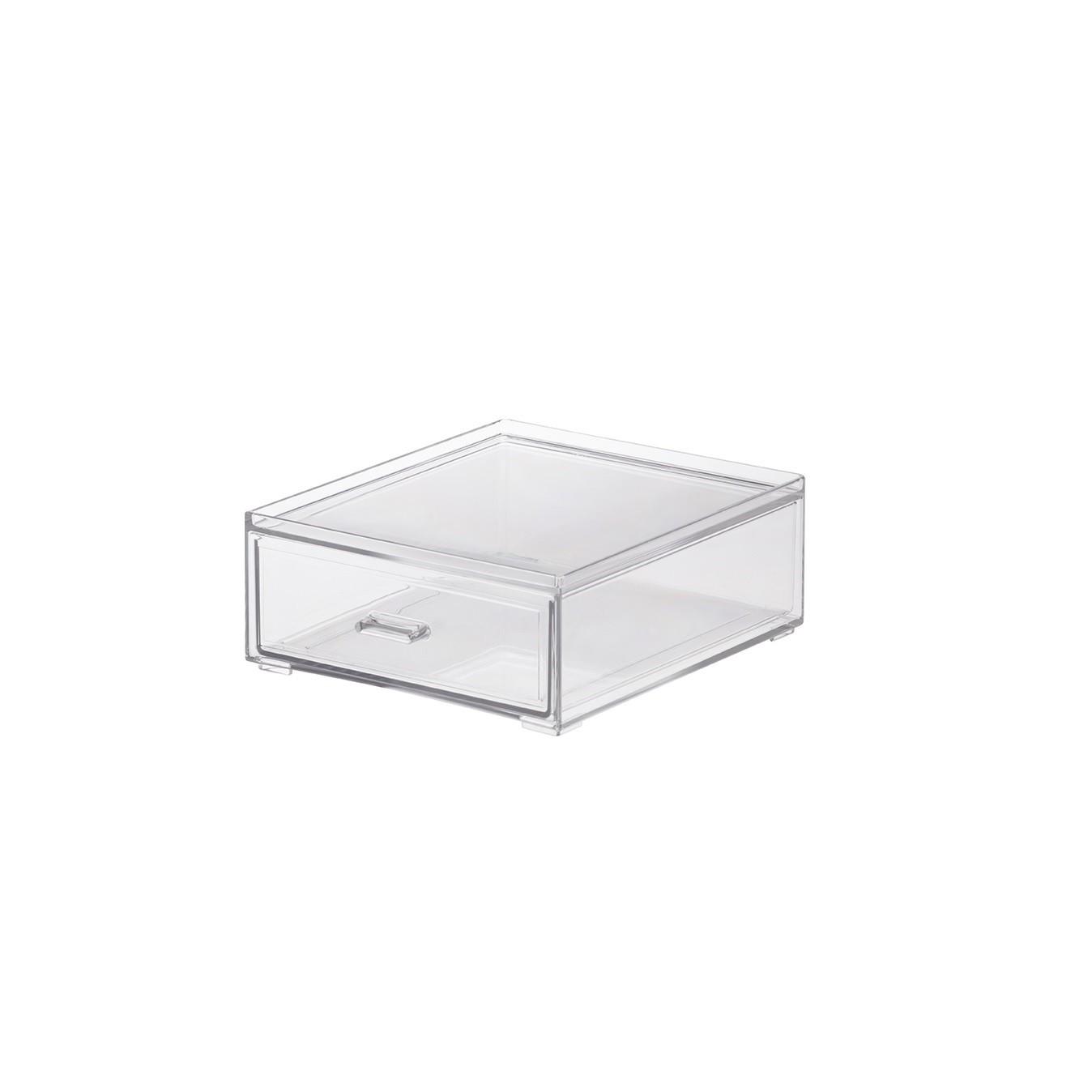 Caixa Organizadora Gaveta 16x185 cm Transparente - Paramount