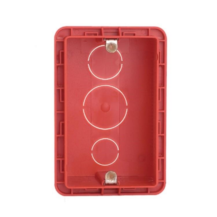 Caixa Eletrica de Plastico 4x2 Vermelha Alvenaria 689014 - Legrand
