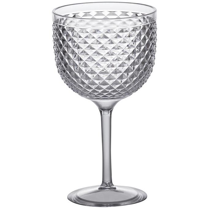Taca de Gin de Acrilico Luxxor 600ml Transparente - Paramount