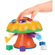 Brinquedo Educativo Cogumelo - Divertoys