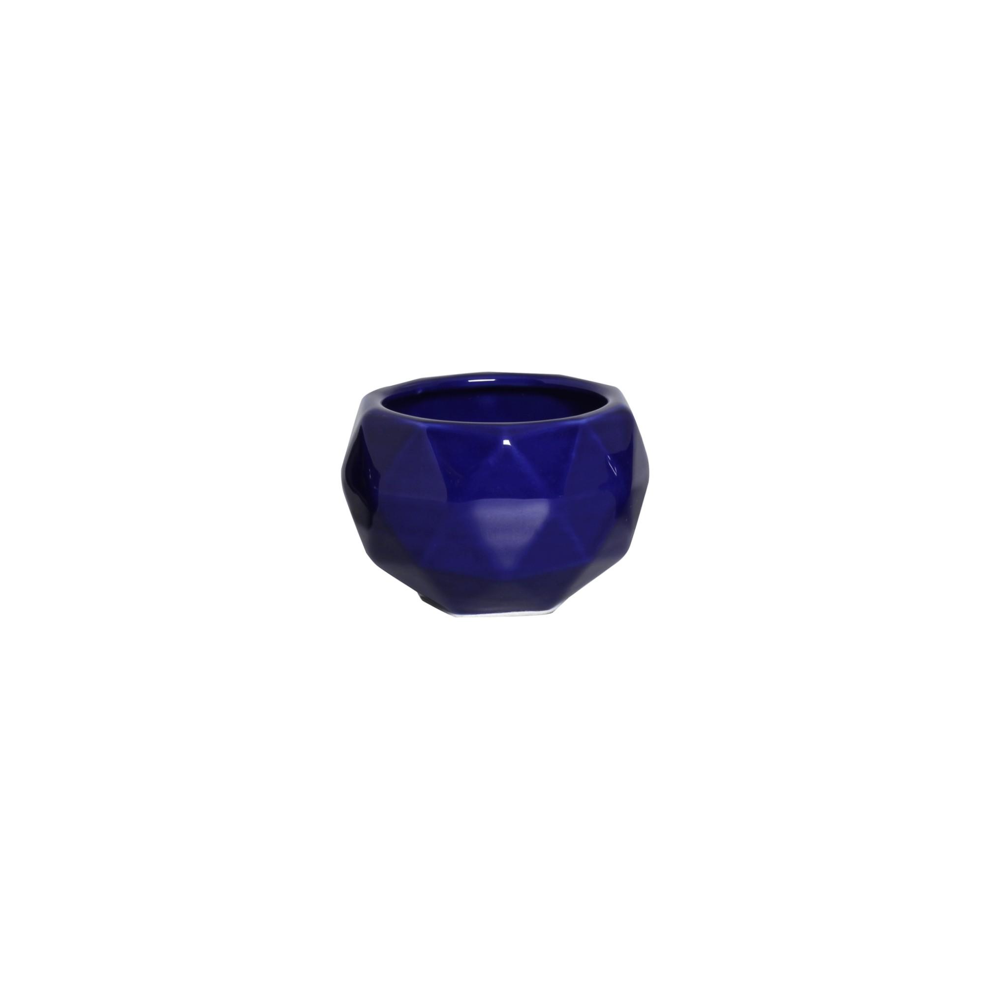 Cachepot Ceramica 75cm Sextavado 6302 - Ana Maria