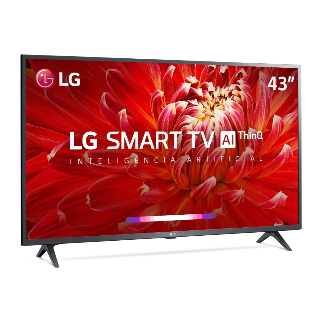 Smart TV LED 43 LG Full HD 43LM6300 HDR10 ThinQ AI Dolby Audio - 3 HDMI 2 USB