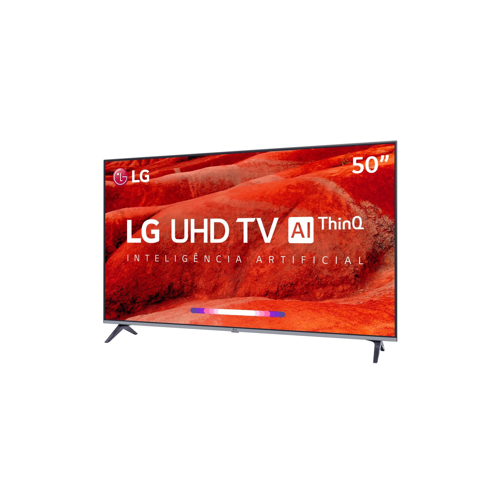 Smart TV LED 50 Lg Eletro 4KUltra HD 4 HDMI e 2 USB WIFI