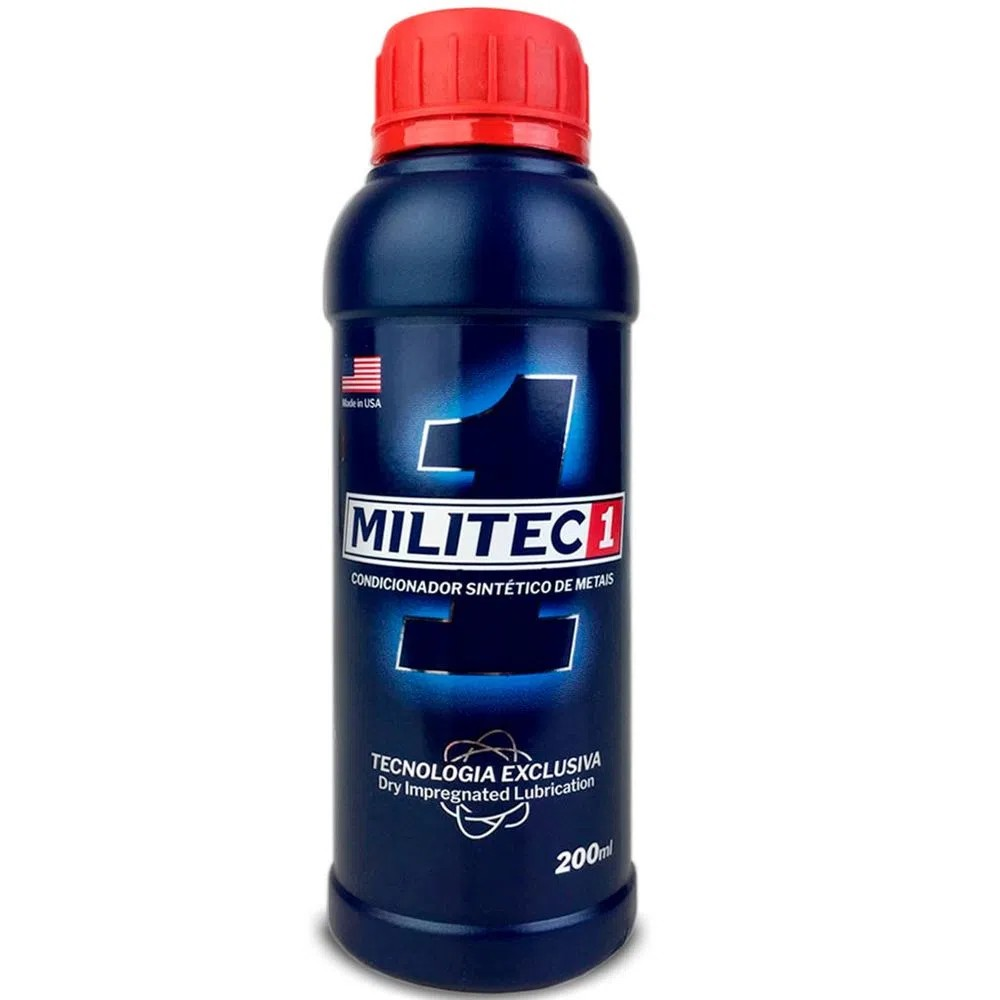 Oleo Condicionador de Metais 200 ml - Militec