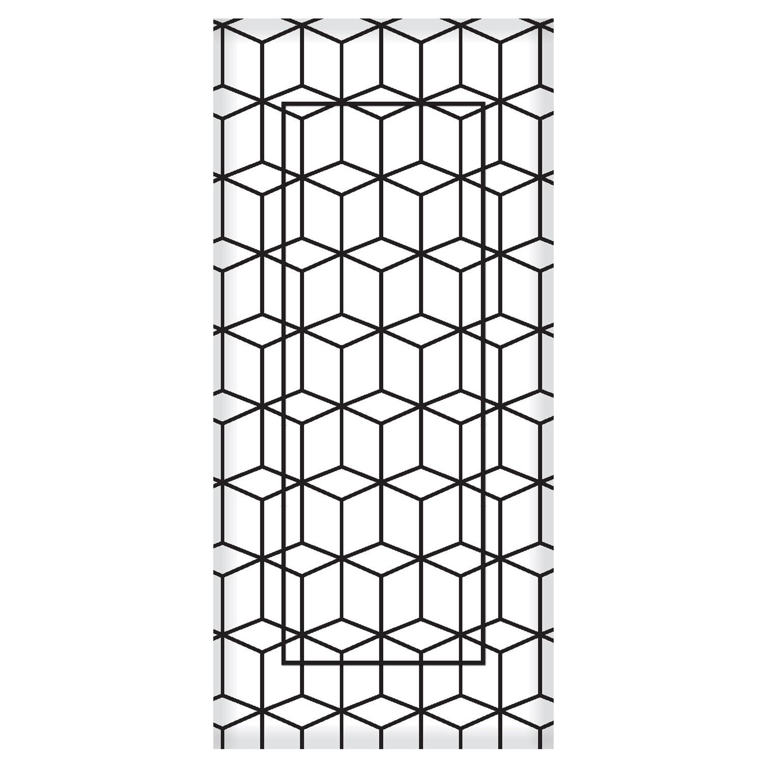 Quadro Decorativo 33x70 cm Geometrico 9019 - Art Frame