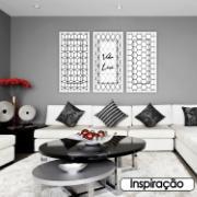 Quadro Decorativo 33x70 cm Geométrico 901/9 - Art Frame