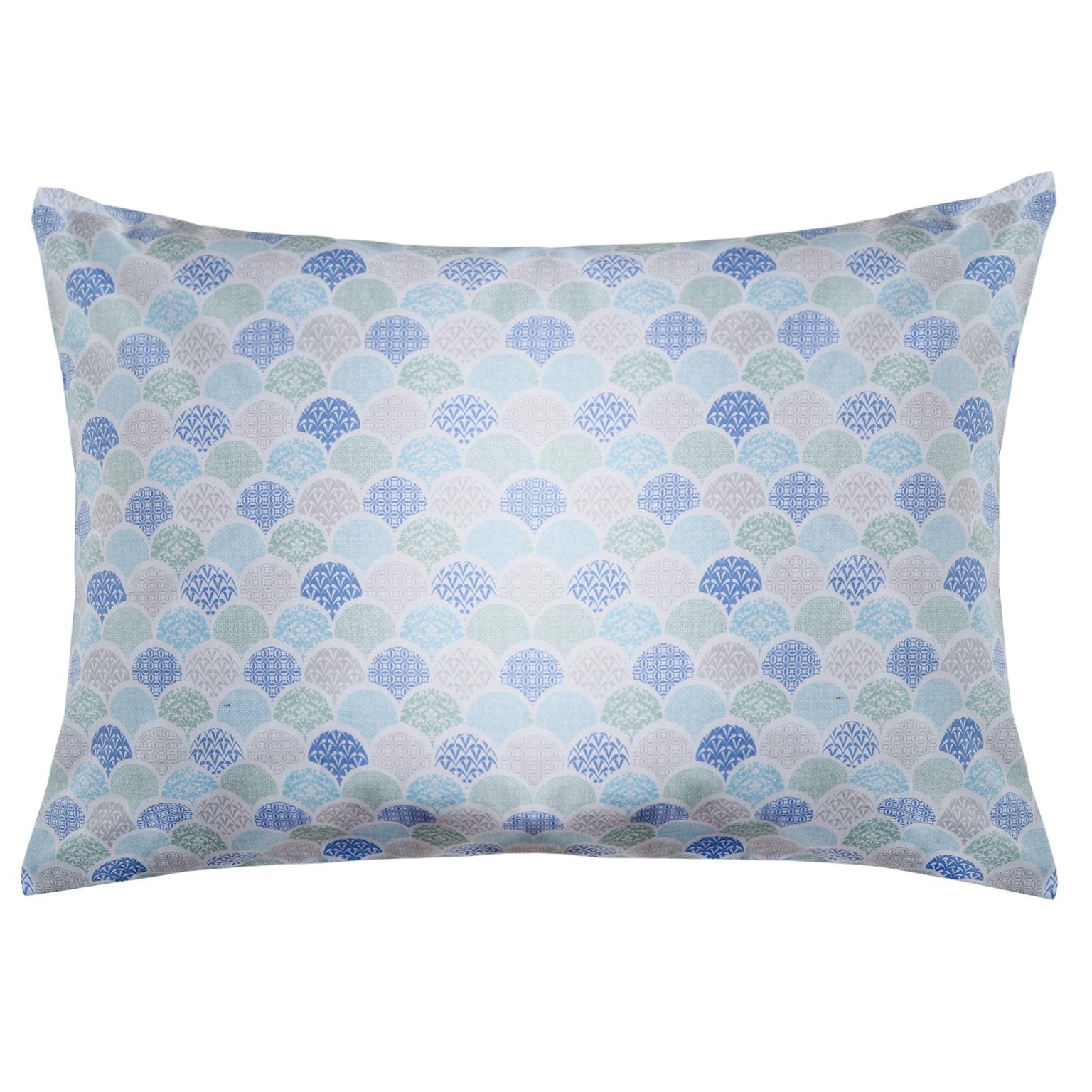 Fronha Royal 50 x 70 cm Deco Azul 100 Algodao - Santista