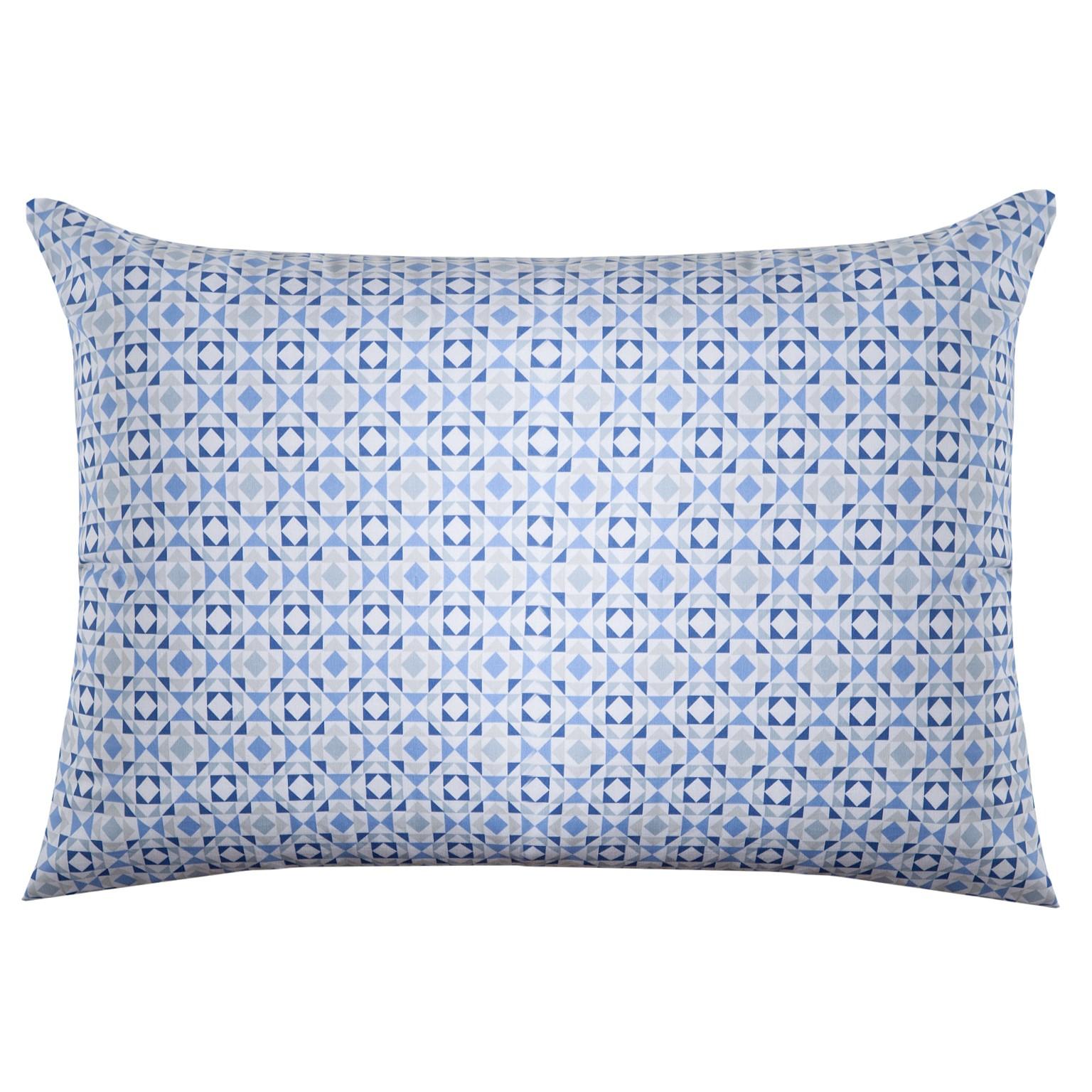 Fronha Royal 50 x 70 Lipe Azul 100 Algodao - Santista