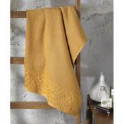 Toalha de Banho Confort 100% Algodão 90 x 150 cm Mostarda - Dohler