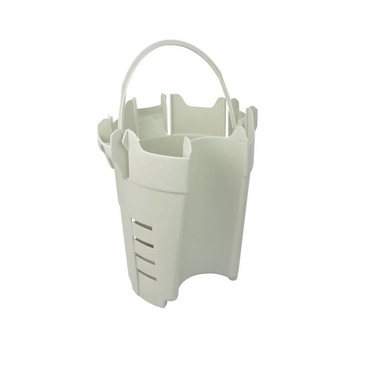 Cesto para Limpeza de Gordura PVC Cinza - Amanco