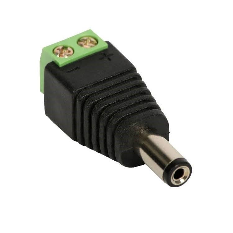 Conector Plug P4 Macho com Borne - 273
