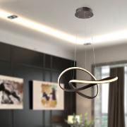 Pendente LED Alumínio 45W Prata LP-02 - Nitrolux