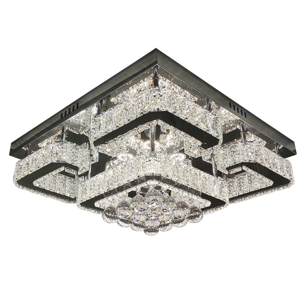 Lustre LED Aluminio 72W Branco LTX-005 - Nitrolux