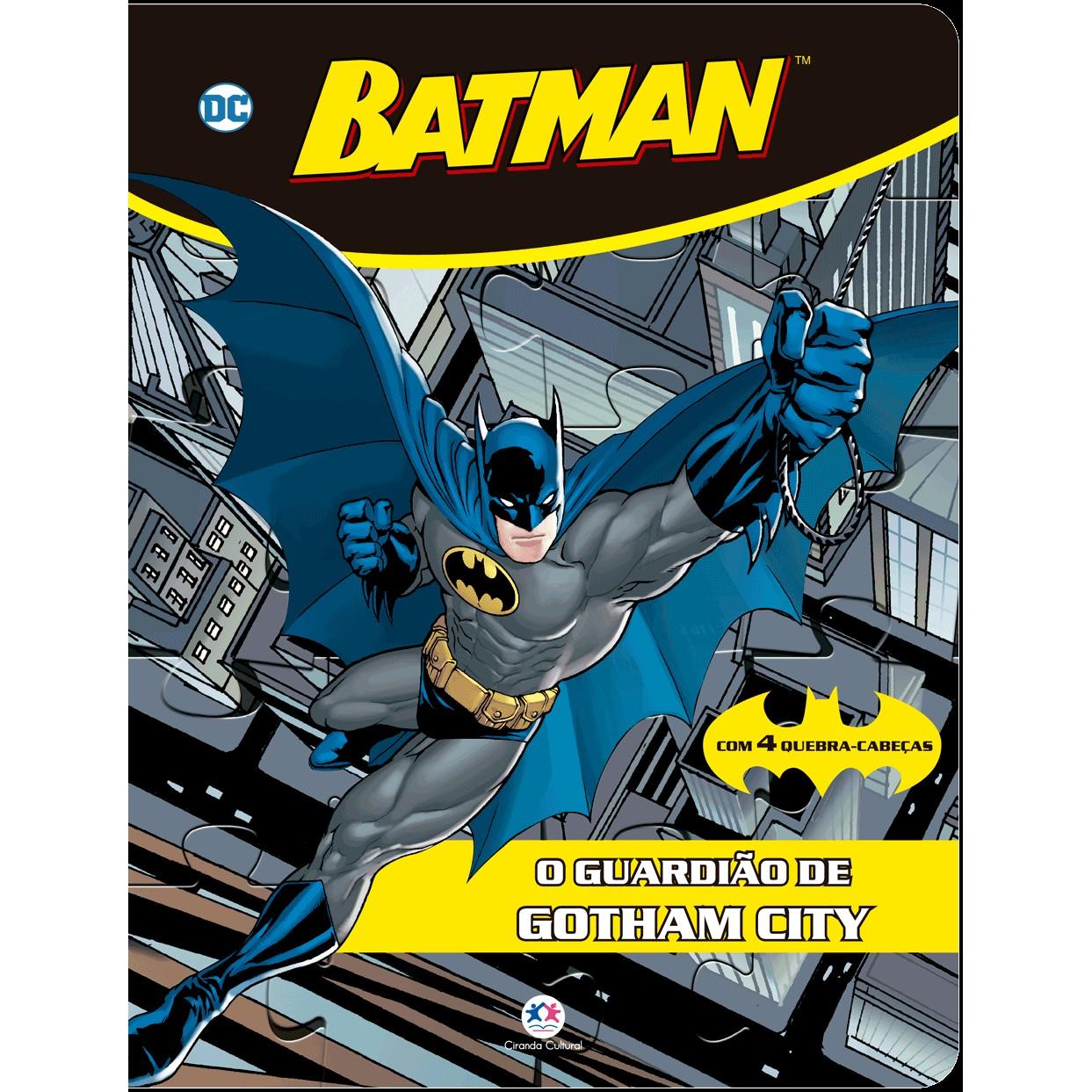 Livro Batman O Guardiao de Gotham City - Ciranda Cultural