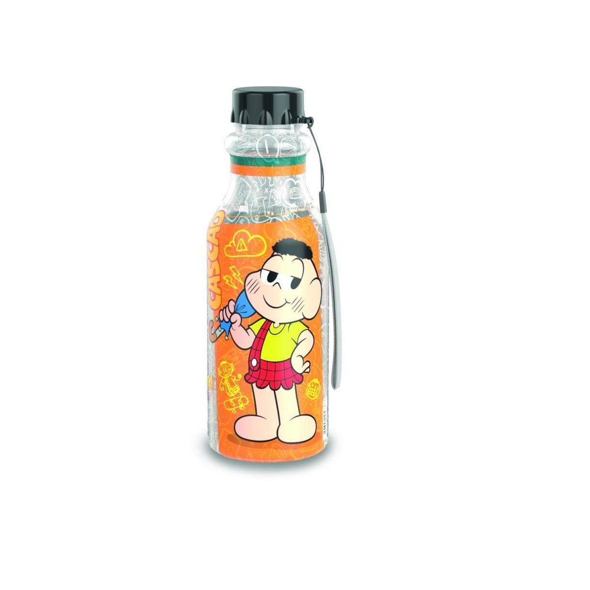 Garrafa Retro Plastico Cebolinha e Cascao 500 ml - Plasutil