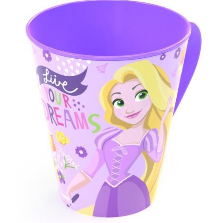 Caneca Plastica 360 ml Rapunzel