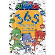 Livro Pj Masks 365 Atividades e Desenhos para Colorir - Ciranda Cultural