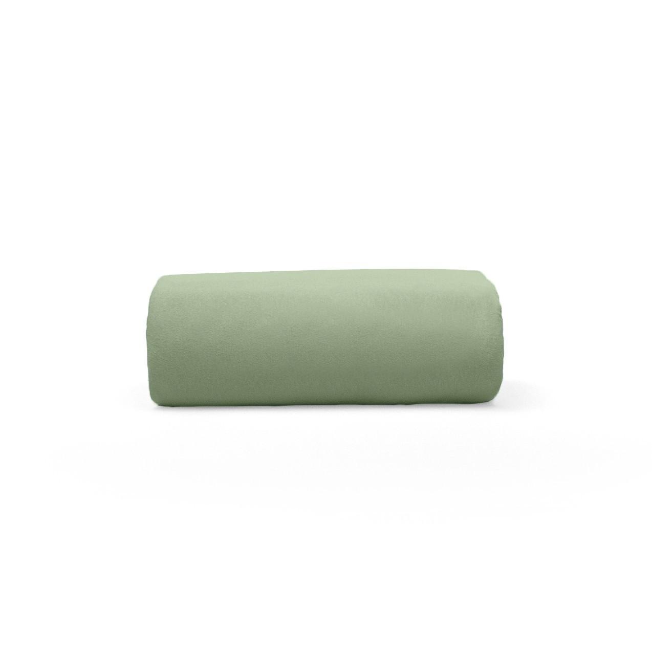 Lencol Malha Solteiro Art Premium com Elastico 100 algodao Verde - Buettner