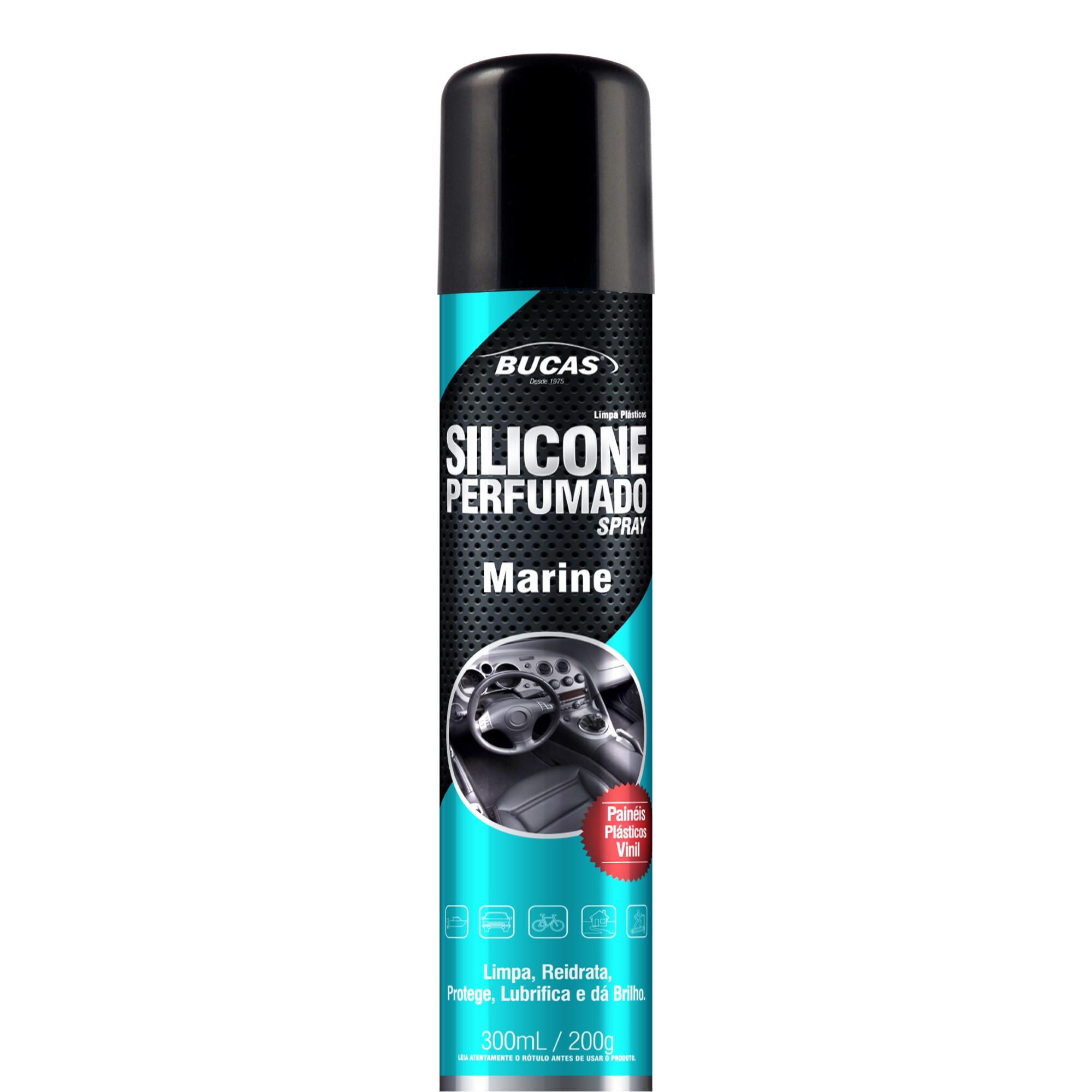 Silicone Spray Automotivo Marine 300 ml - 14146 - Interbrilho