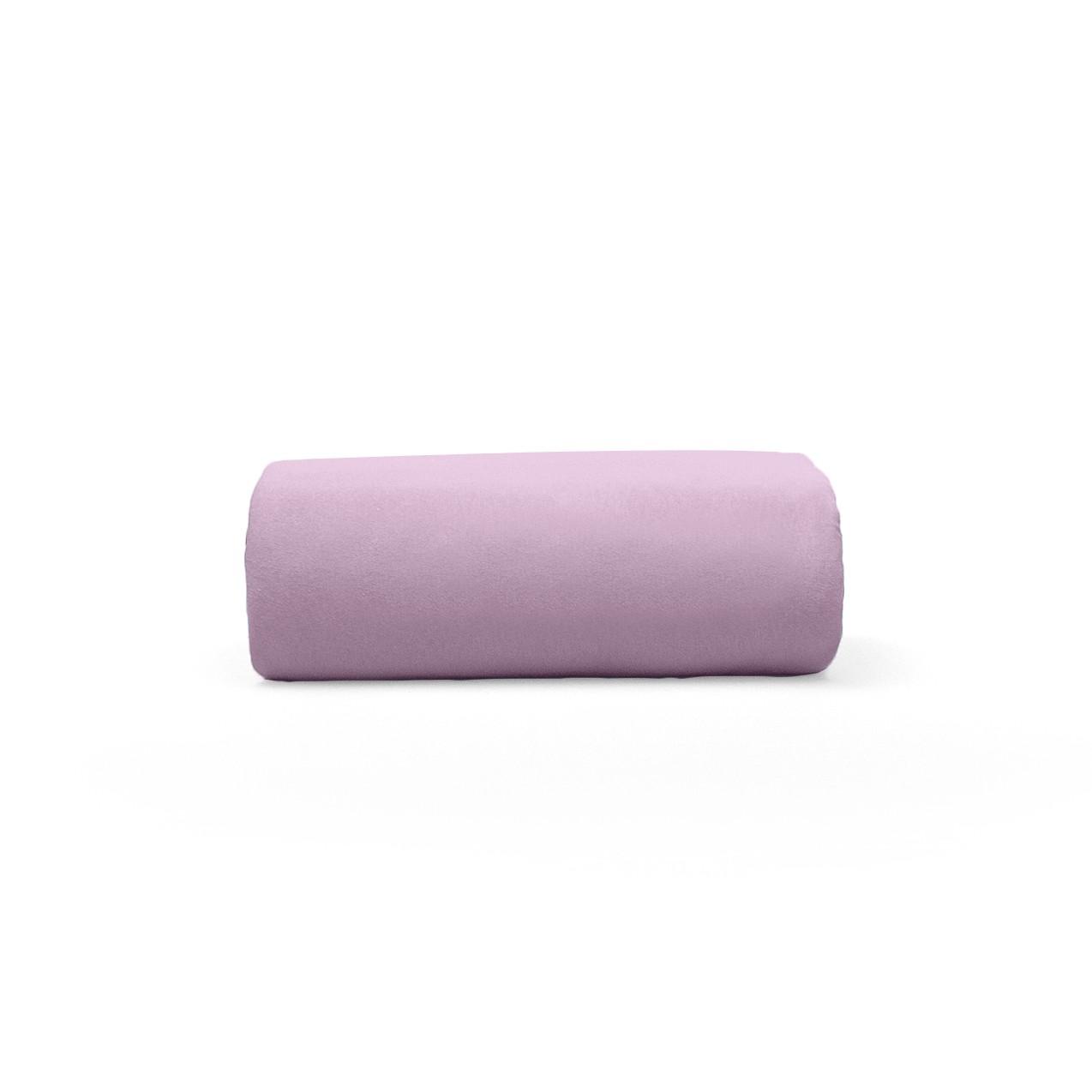 Lencol Malha Casal Art Premium com Elastico 100 algodao Rosa - Buettner