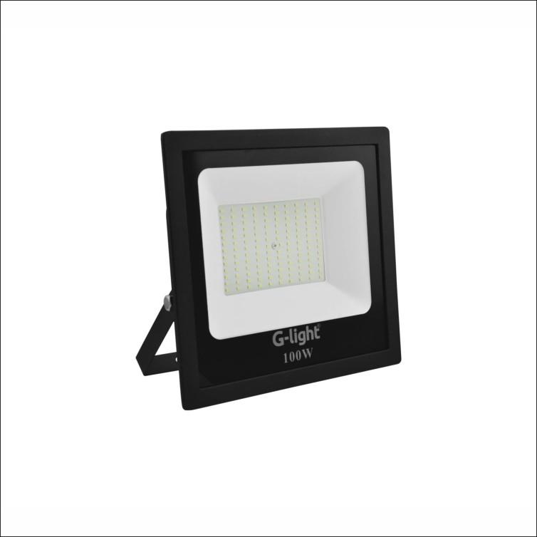Refletor LED 100W Bivolt Luz Branca - Glight
