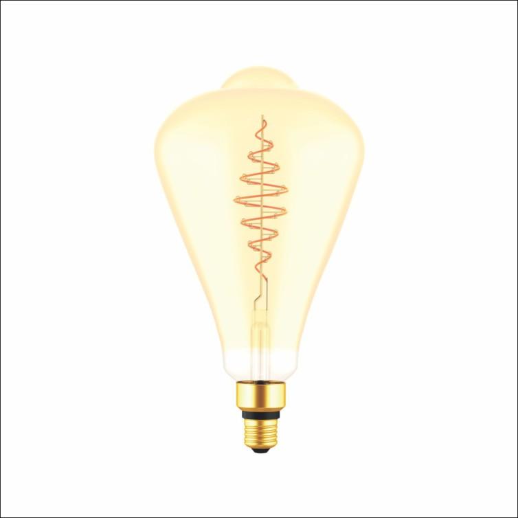 Lampada LED Bulbo 5w Luz Amarela E27 ST164 - Glight