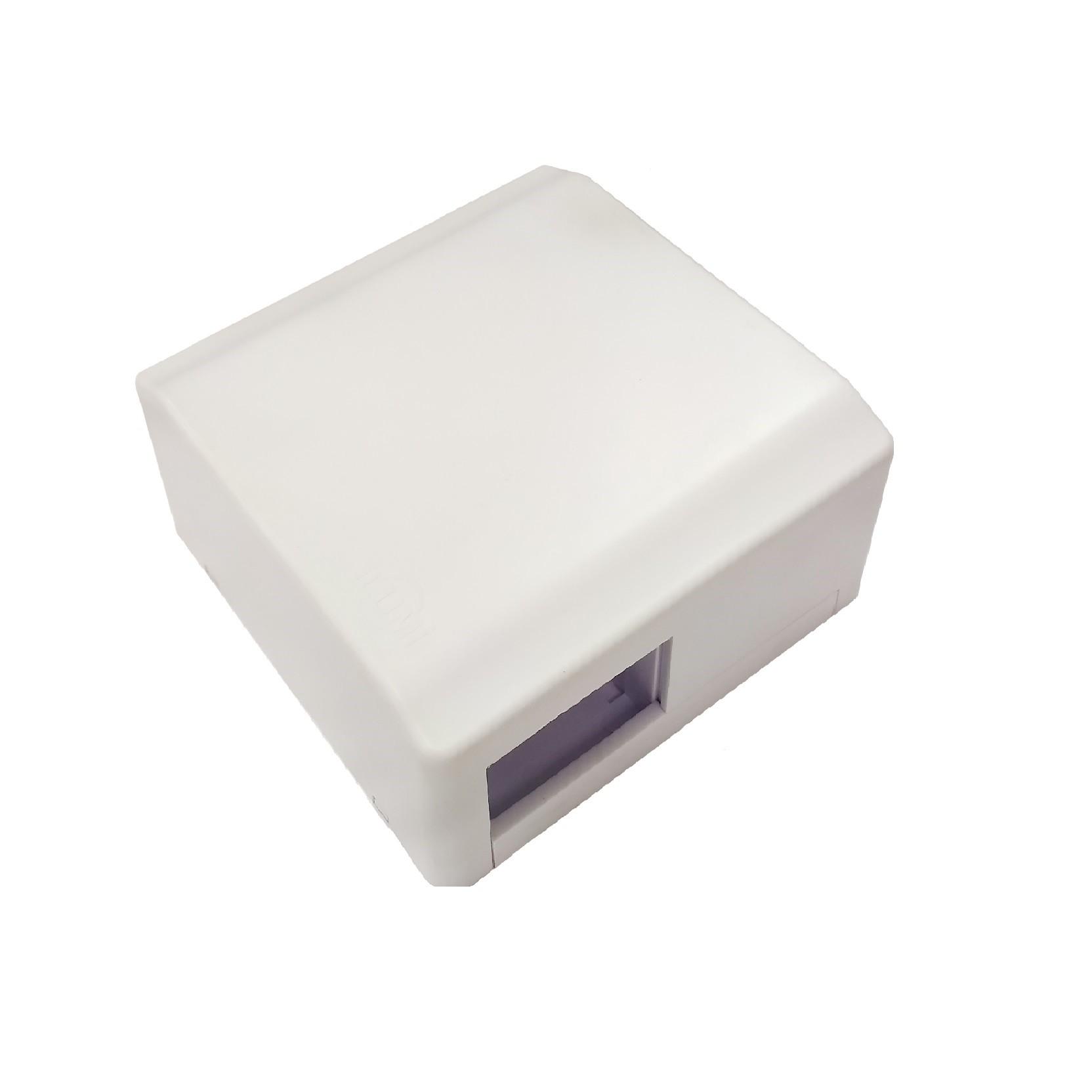 Kit de Caixa de Disjuntor Tomada 2PT 20A de Sobrepor - Ilumi