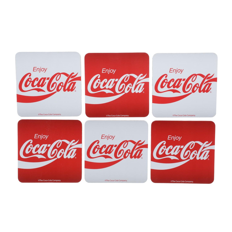 Porta Copos Coca-Cola 6 Pecas - Urban Ud