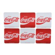 Porta Copos Coca-Cola 6 Peças - Urban Ud