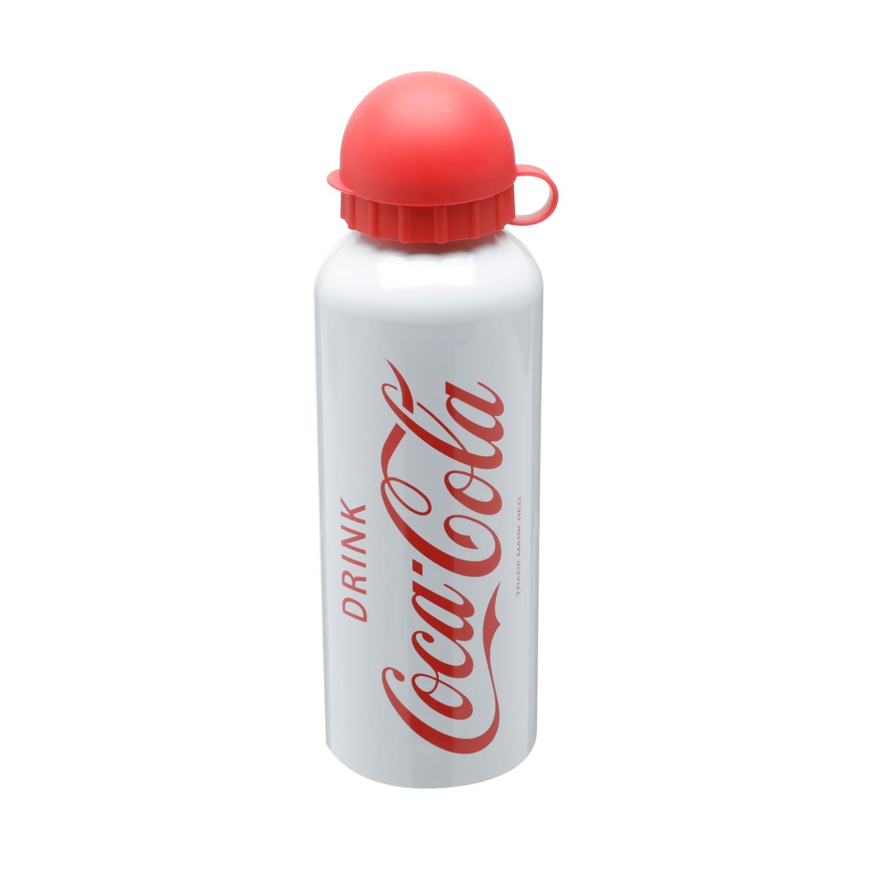 Garrafa de Aluminio 500 ml Coca Cola Drink Branca - Urban