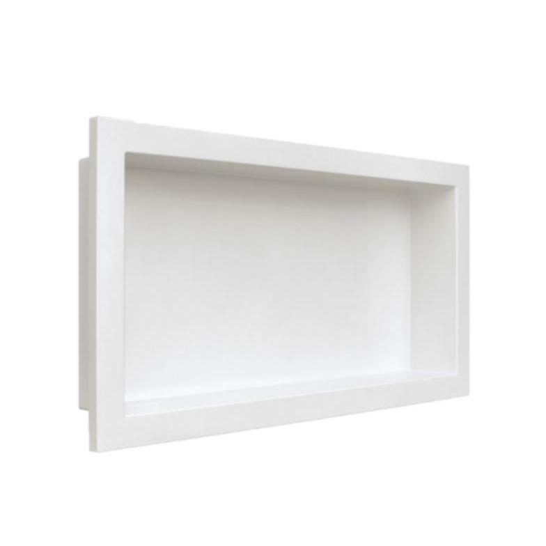 Nicho de Parede para Embutir 30x60 Branco 18301002 - Arquitech