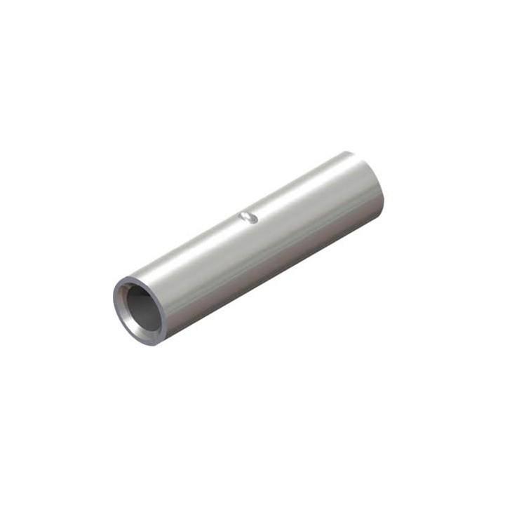 Luva Tubular de Compressao 35 mm Prata 3 Pecas - Crimper