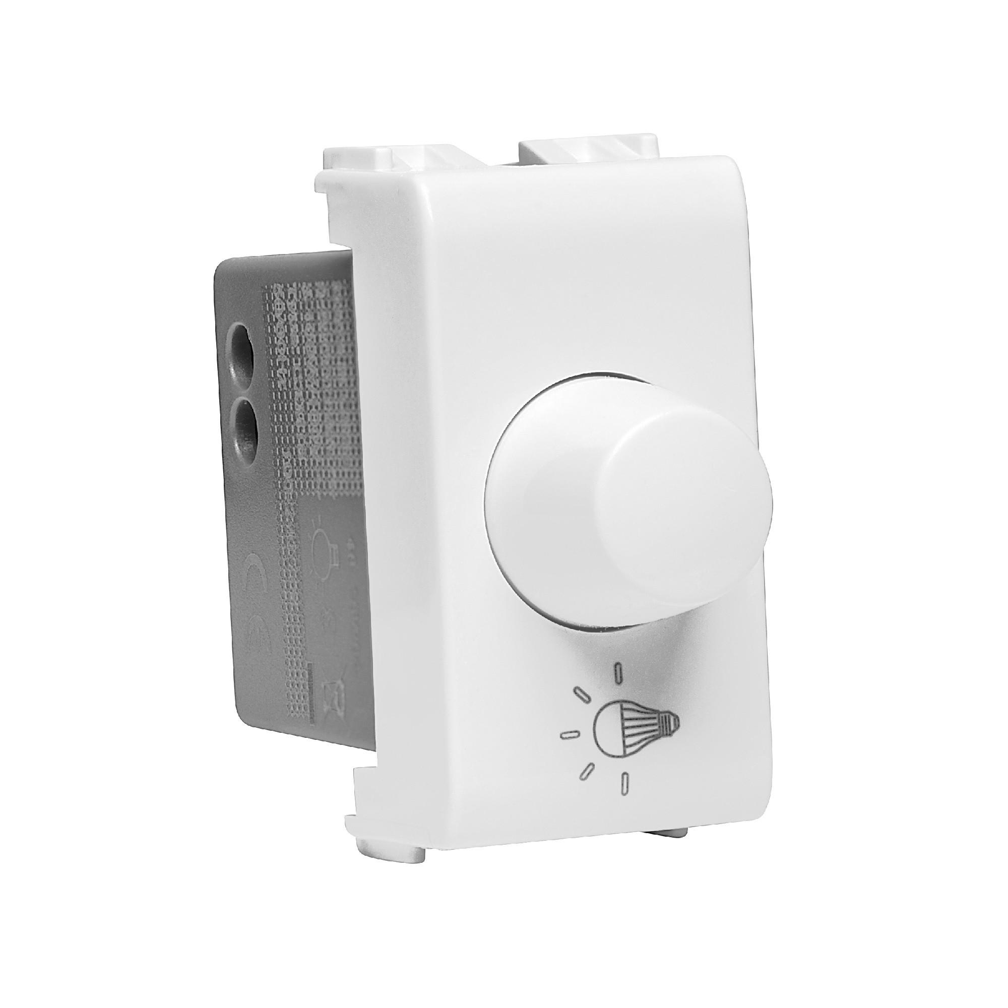Variador de Luminosidade Rotativo Modular de Embutir Bivolt - Thesi - Bticino