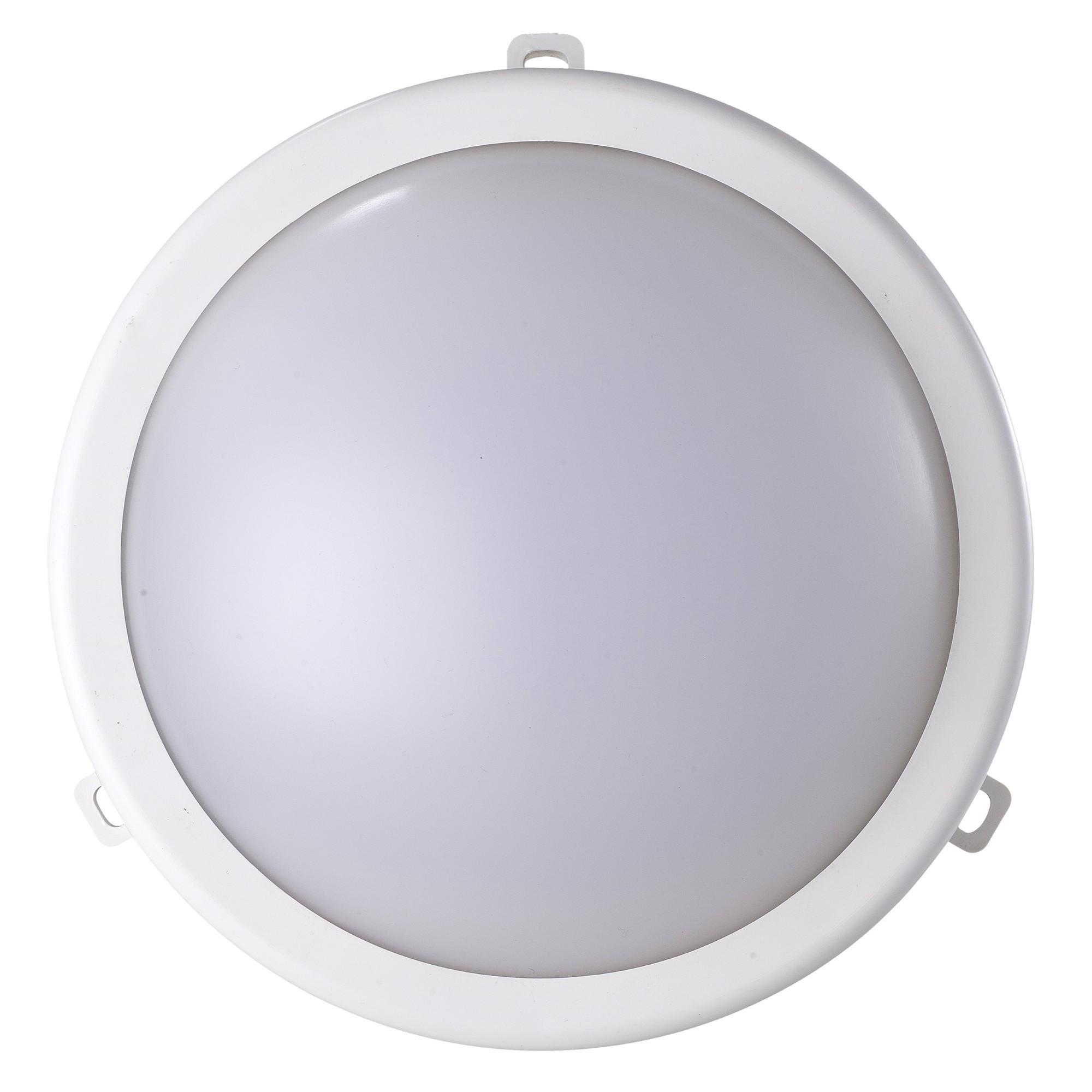 Luminaria LED de Sobrepor em Policarbonato Bivolt 12W - Ecoforce