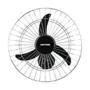 Ventilador de Parede 60 cm Aço Preto 220V - 107 - Ventisol