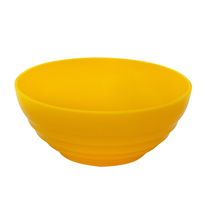 Tigela de Plastico 12L Amarela - Vem Plast