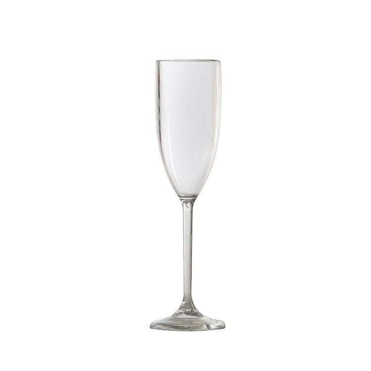 Taca de Champanhe de Plastico 150ml Incolor - Vem Plast