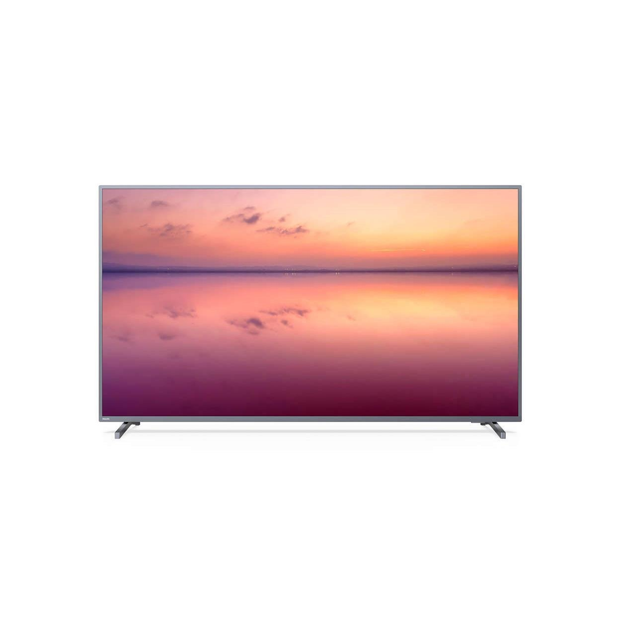 Smart TV LED 70 Philips Tv 4KUltra HD 70PUG677478 - Conversor Digital Wi-Fi 3 HDMI 2 USB