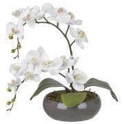 Arranjo Decorativo 47cm Orquídea Cinza 60554 - Dea