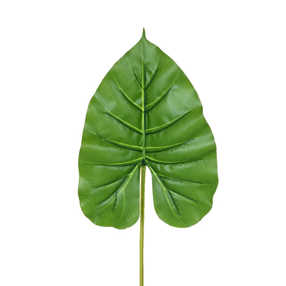Haste Artificial Folha Philo 50cm Verde
