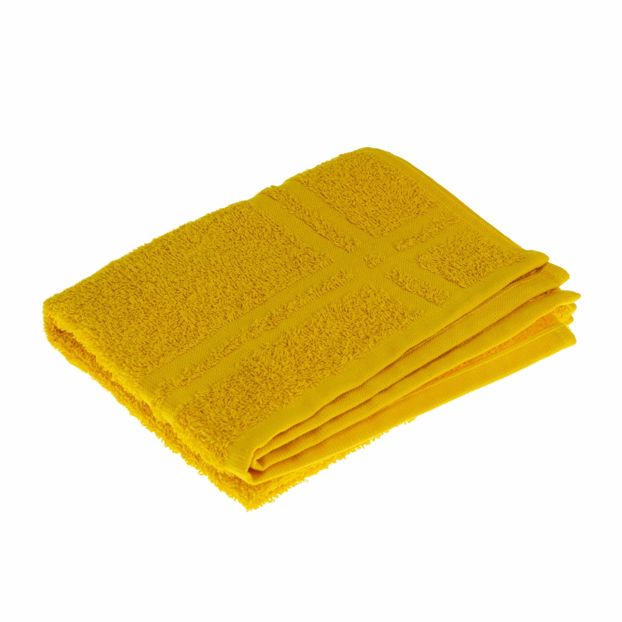 Toalha de Piso Charme 42 x 68 cm 100 algodao Amarelo - Marcotex