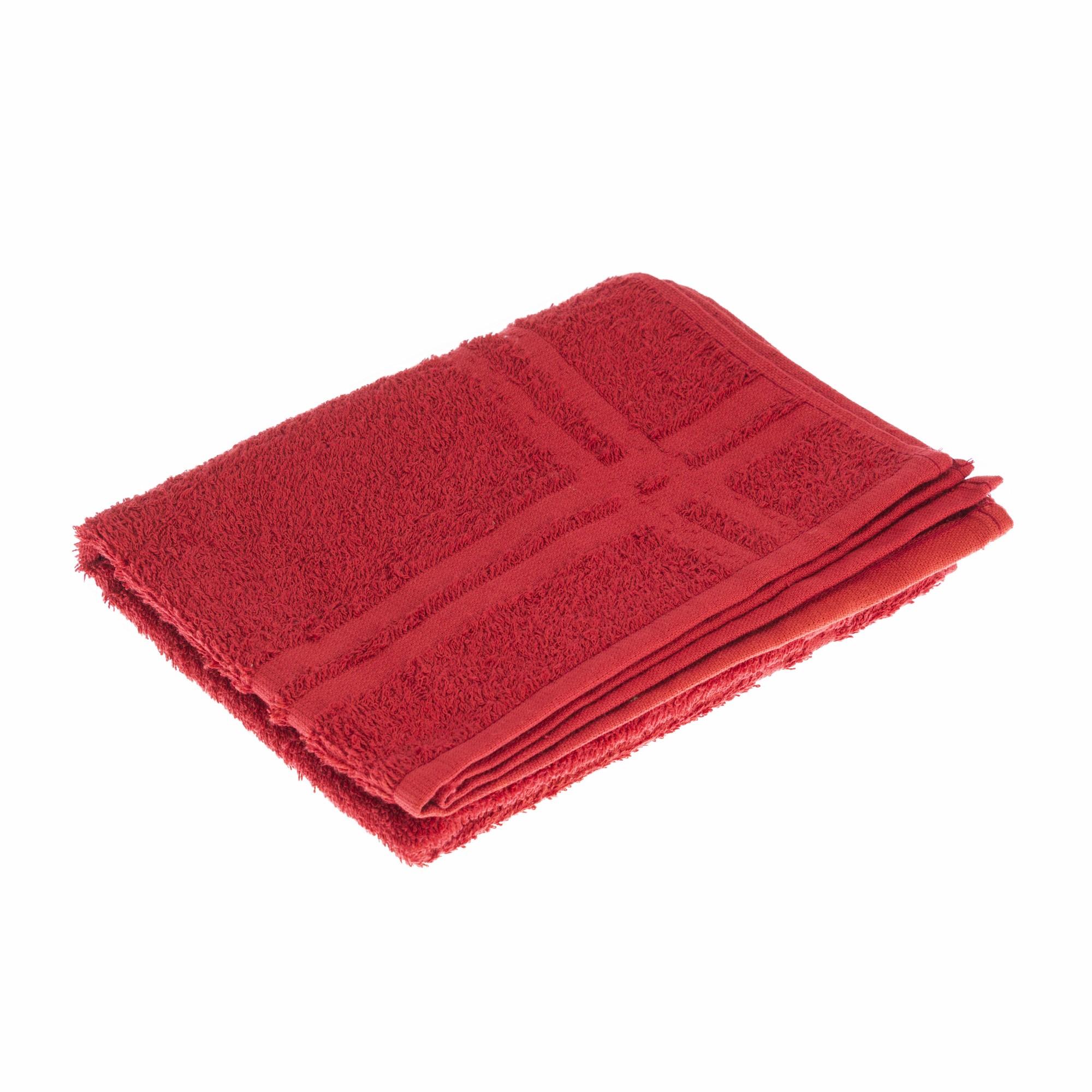 Toalha de Piso Charme 42 x 68 cm 100 Algodao Vermelho - Marcotex
